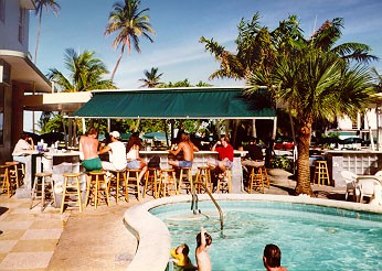 Clevelander Bar Pool - © 1999 Jimmy Rocker Photography