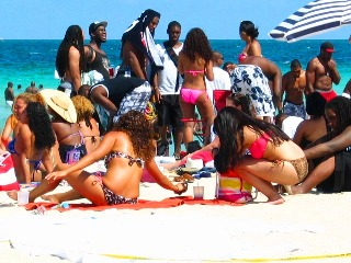 Superfine Latina Bikini Goddesses in the Crowd #3 - © 2012 Jimmy Rocker Photography