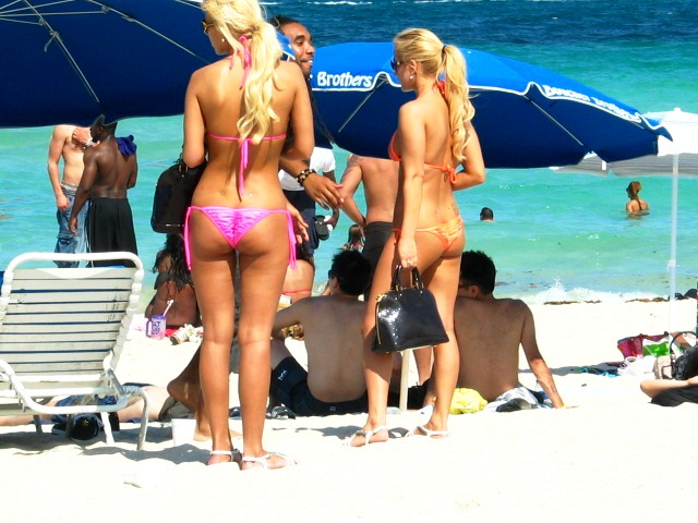 Stunning Blonde Bikini Beauties on the Beach #3 - Copyright © 2012 JiMmY RocKeR PhoToGRaPhY