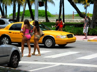Gorgeous South Beach Beauties - © 2009 Jimmy Rocker Photography