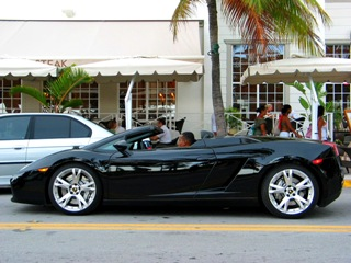 Jet Black Lamborghini #2 - © 2009 Jimmy Rocker Photography