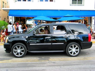 Miami Southbeach Cadillac Escalade - © 2009 Jimmy Rocker Photography