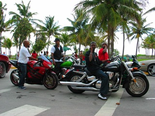 South Beach Biker Boyz #2 - © 2009 Jimmy Rocker Photography