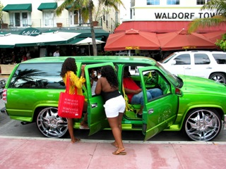 Ultra Green Hip Hop Suv #3 - © 2009 Jimmy Rocker Photography
