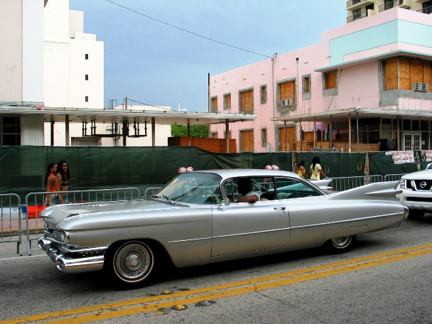 Vintage Grey Cadillac - © 2009 Jimmy Rocker Photography