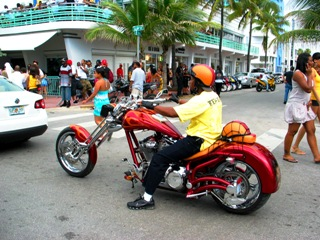 Wet Willies Red Chopper #2 - © 2009 Jimmy Rocker Photography