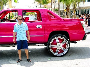 Candy Paint Hip Hop Rims #2 - © 2009 Jimmy Rocker Photography
