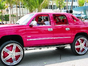Candy Paint Hip Hop Rims - © 2009 Jimmy Rocker Photography