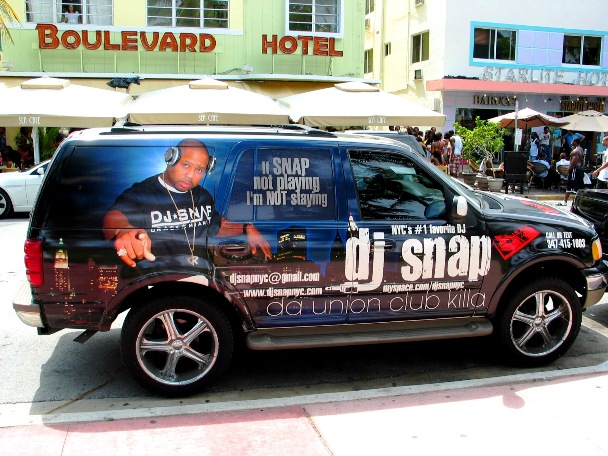 DJ Snap SUV South Beach - © 2oo9 JiMmY RocKeR PhoToGRaPhY