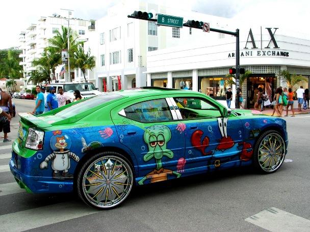Dodge Charger Armani Exchange - © 2009 Jimmy Rocker Photography