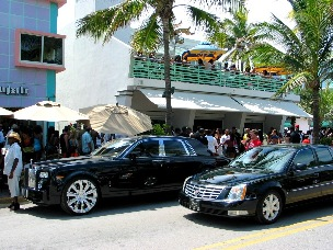 South Beach Luxury Cars - © 2009 Jimmy Rocker Photography