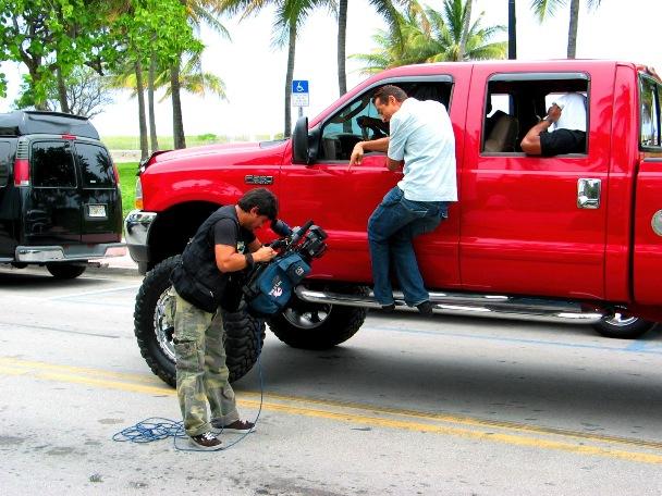 SOBE Crimson Monster Truck #2 - © 2009 Jimmy Rocker Photography