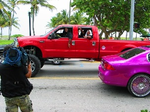SOBE Crimson Monster Truck - © 2009 Jimmy Rocker Photography