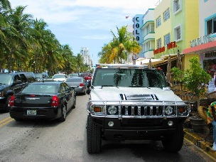 SOBE Hummer Pastels - © 2009 Jimmy Rocker Photography