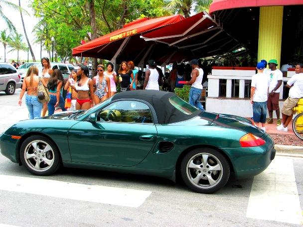 SOBE Primetime Porsche - © 2009 Jimmy Rocker Photography