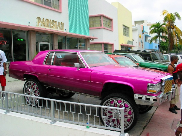 South Beach Cadillac Rims - © 2009 JiMmY RocKeR PhoToGRaPhY
