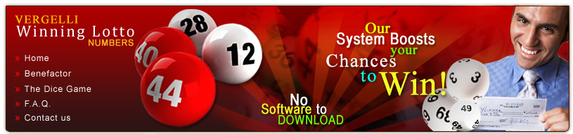 Picking Winning Lottery Numbers Vergelli Lotto System WinningLotto